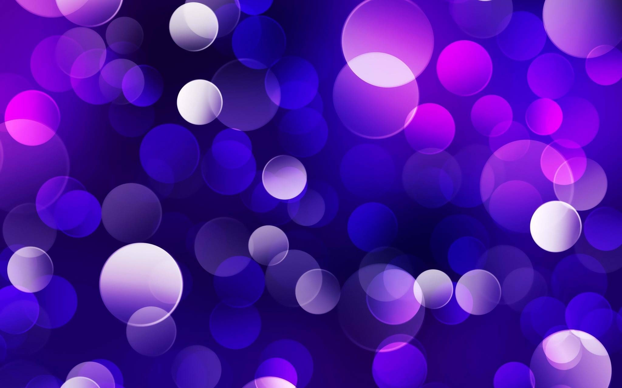 Purple-Blue Bubbles