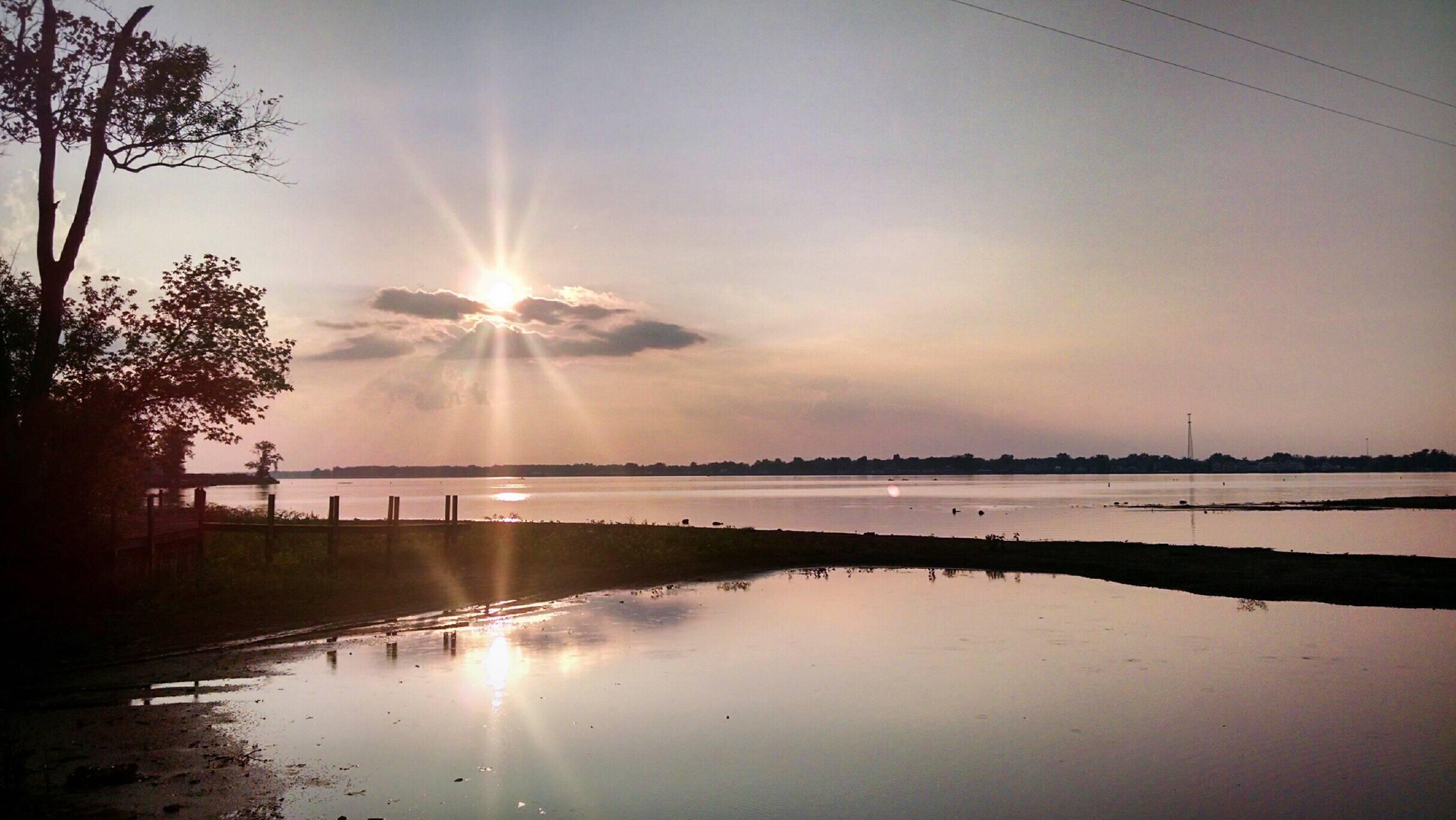Buckeye Lake Sunset