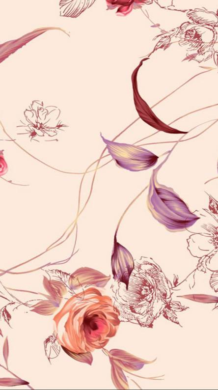 Floral Design Wall