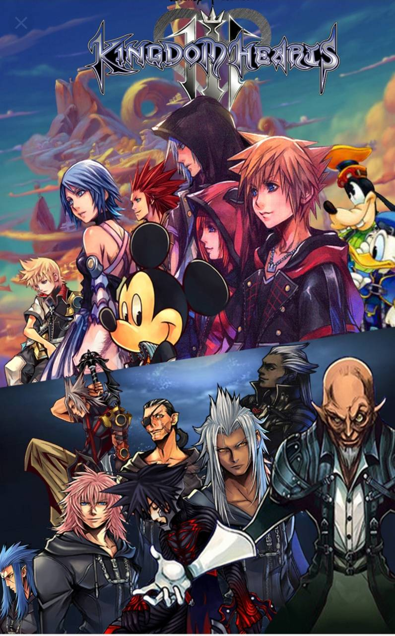 Kingdom Hearts 3 Wallpaper By Lace1105 B3 Free On Zedge