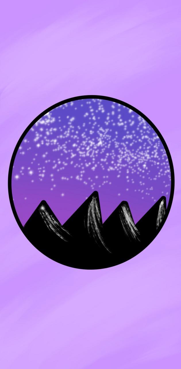 Aesthetic mountain