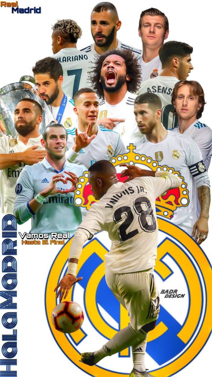 """Real Madrid Wallpaper By Badr Design 3d Free On ZEDGEâ""""¢"""