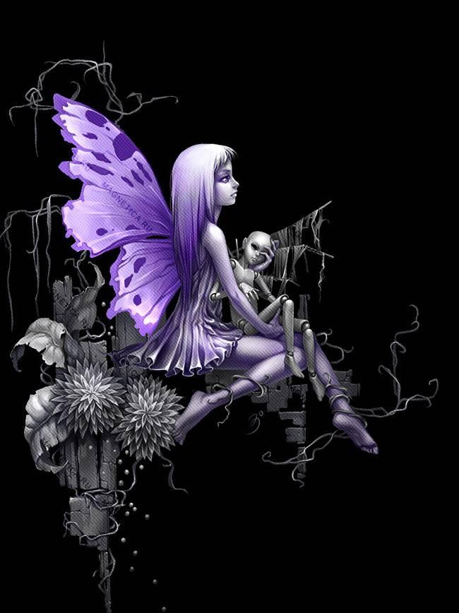 Goth Fairy Wallpaper By Auxtria 1f Free On Zedge
