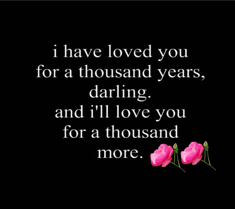 Love Words