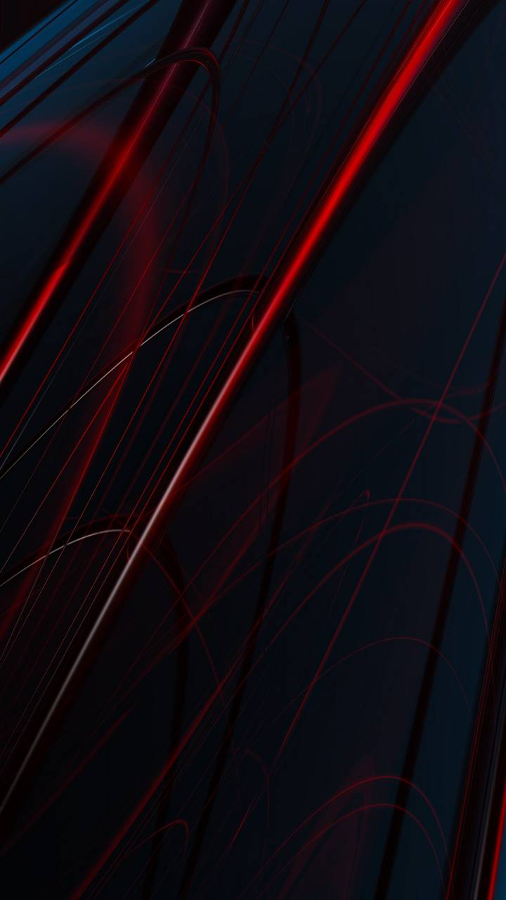 Red Abstract Lines