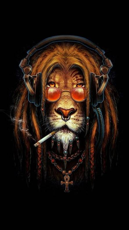 Rasta Lion Wallpapers Free By Zedge