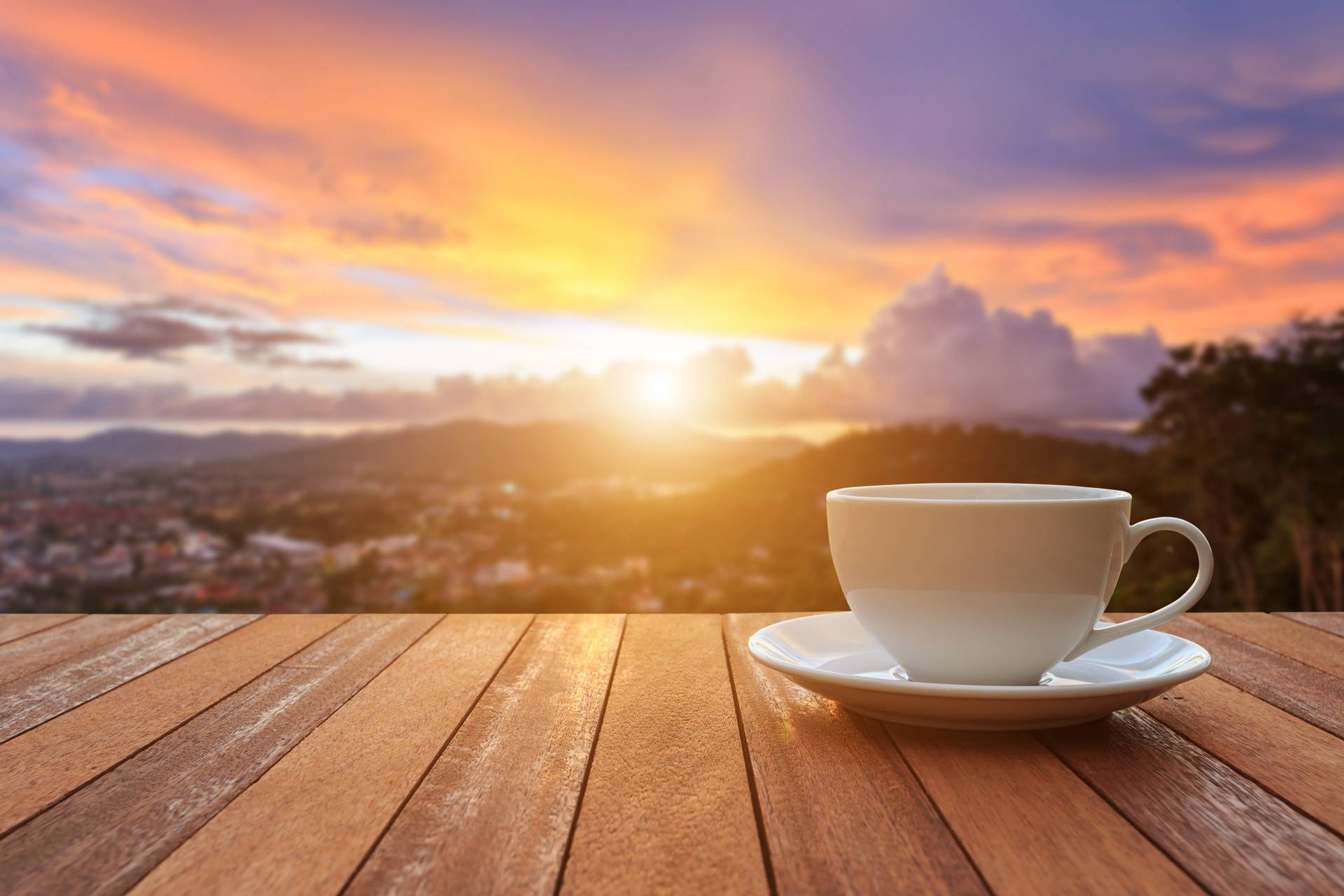 Coffee with Sunrise