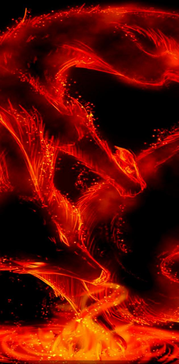 Red Fire Dragon