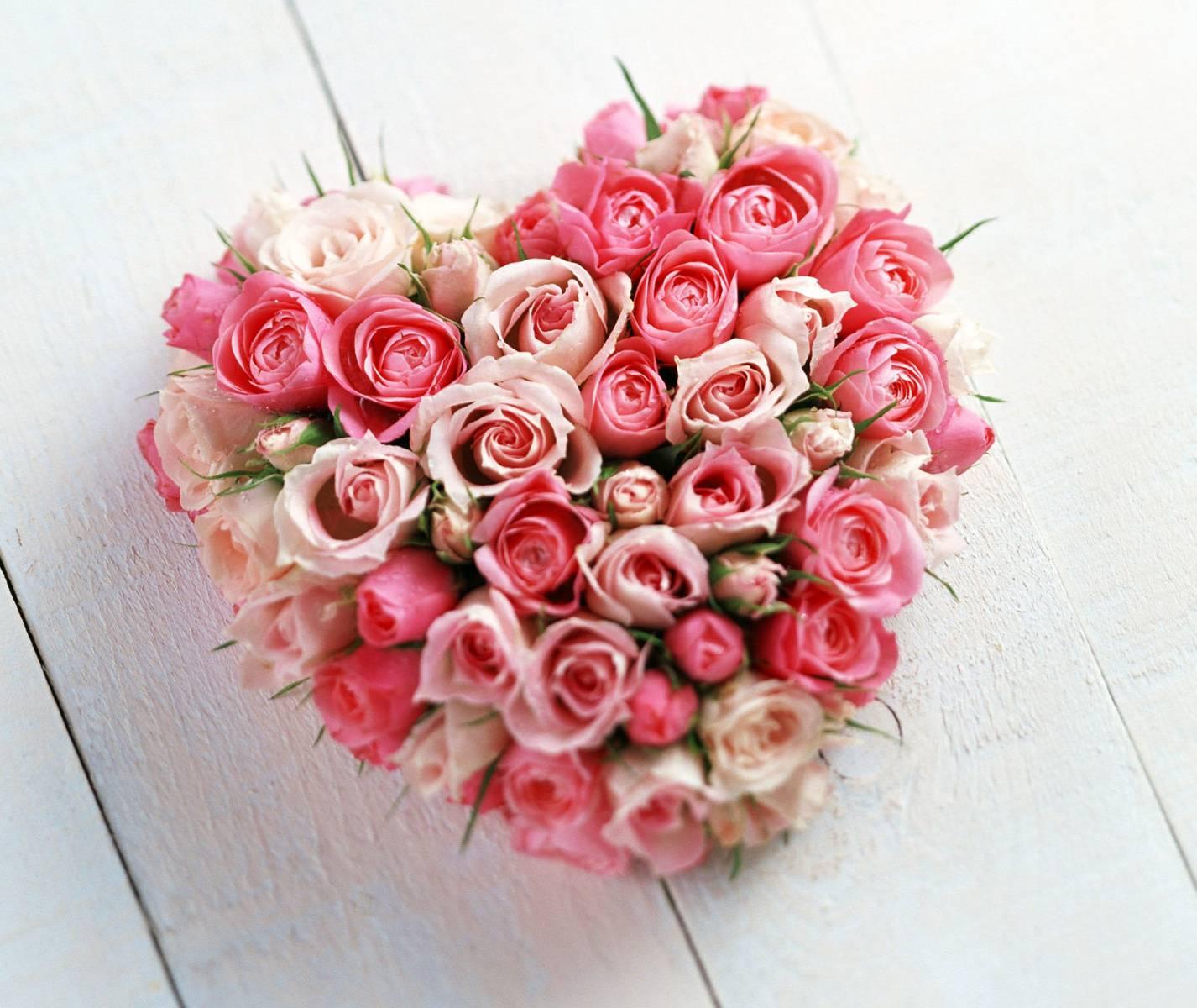 Love Flower Heart