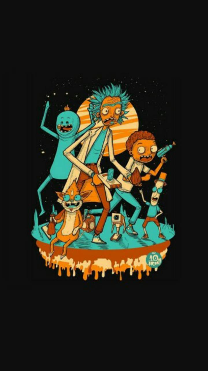 Rick And Morty Wallpaper By Ig Correanico C6 Free On Zedge