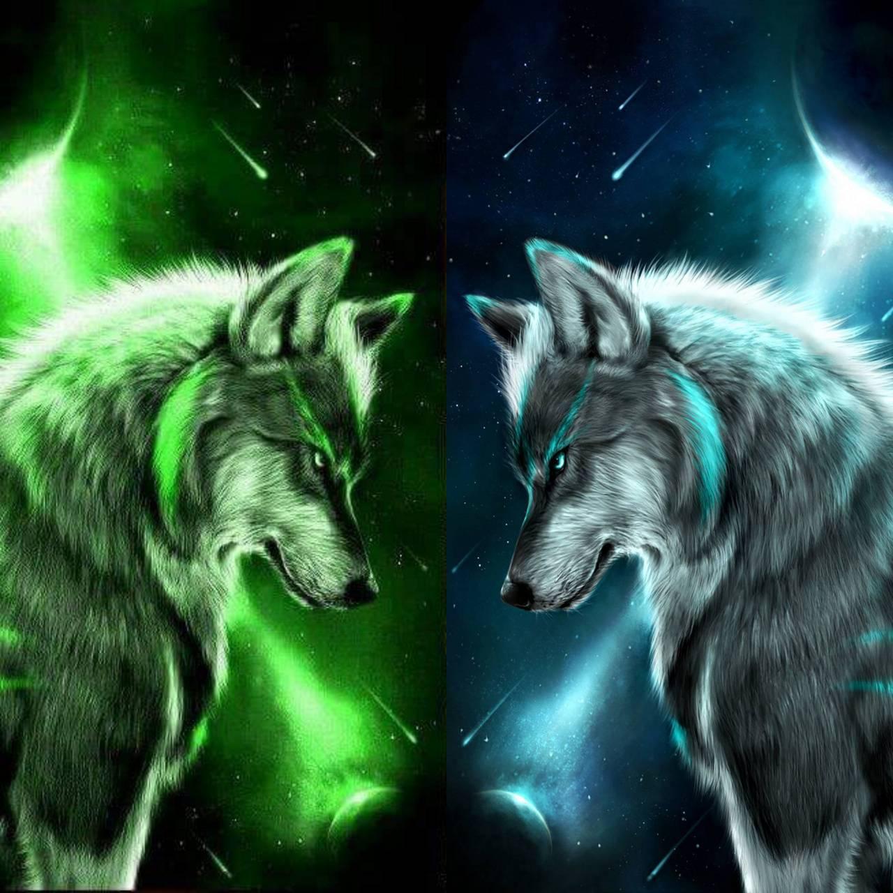 Wolf wall 2