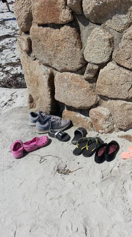Shoe Parking - Beach