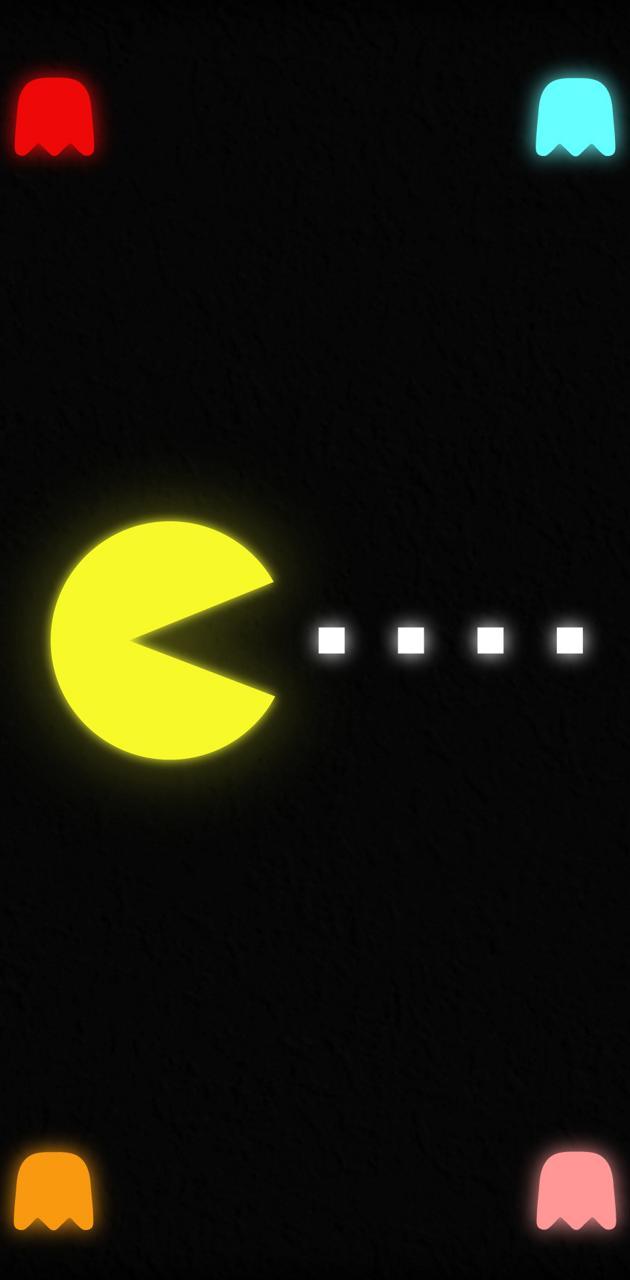 Pac-Man Neon