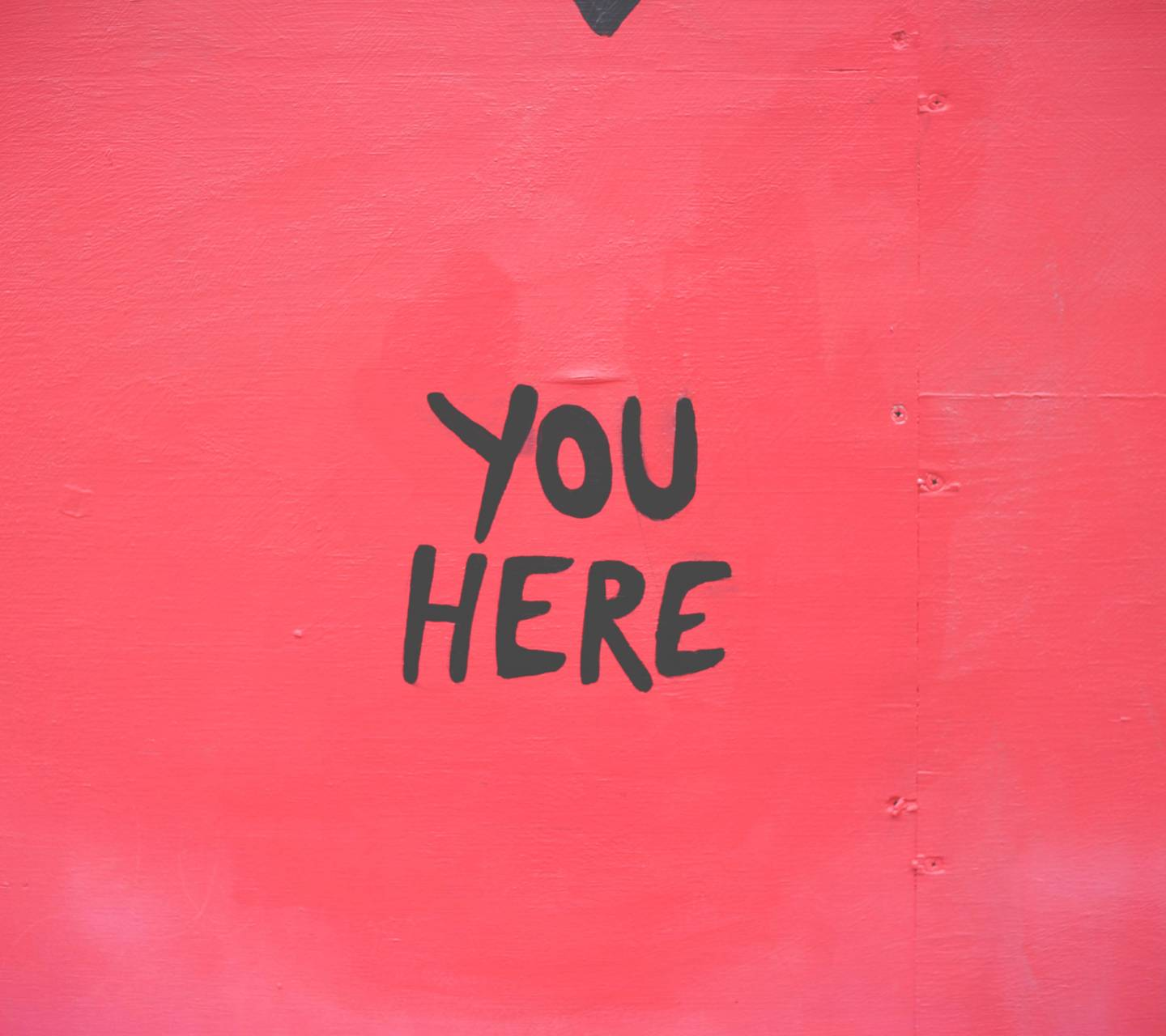 you here