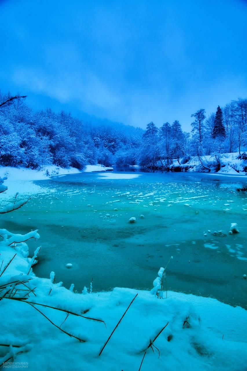 Cold Norwegian River