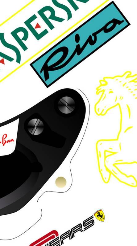 Vettel AUS helmet19