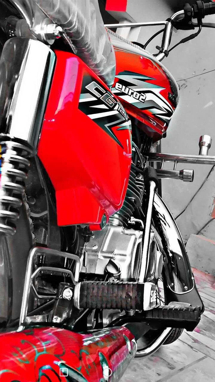 Honda 125 bike