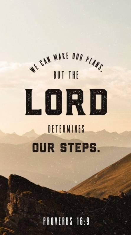 Proverbs 16 9