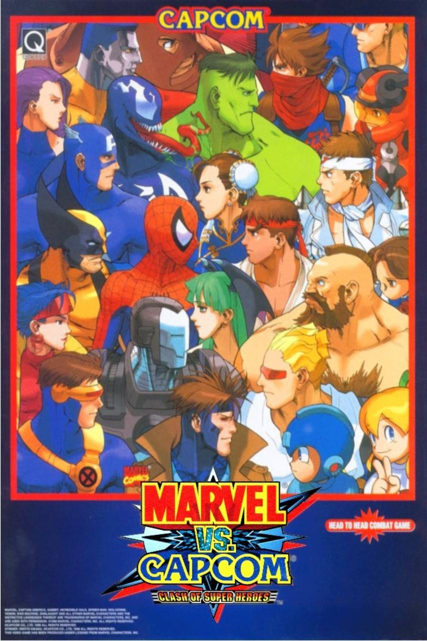 Marvel Vs Capcom 2 Ringtones And Wallpapers Free By Zedge