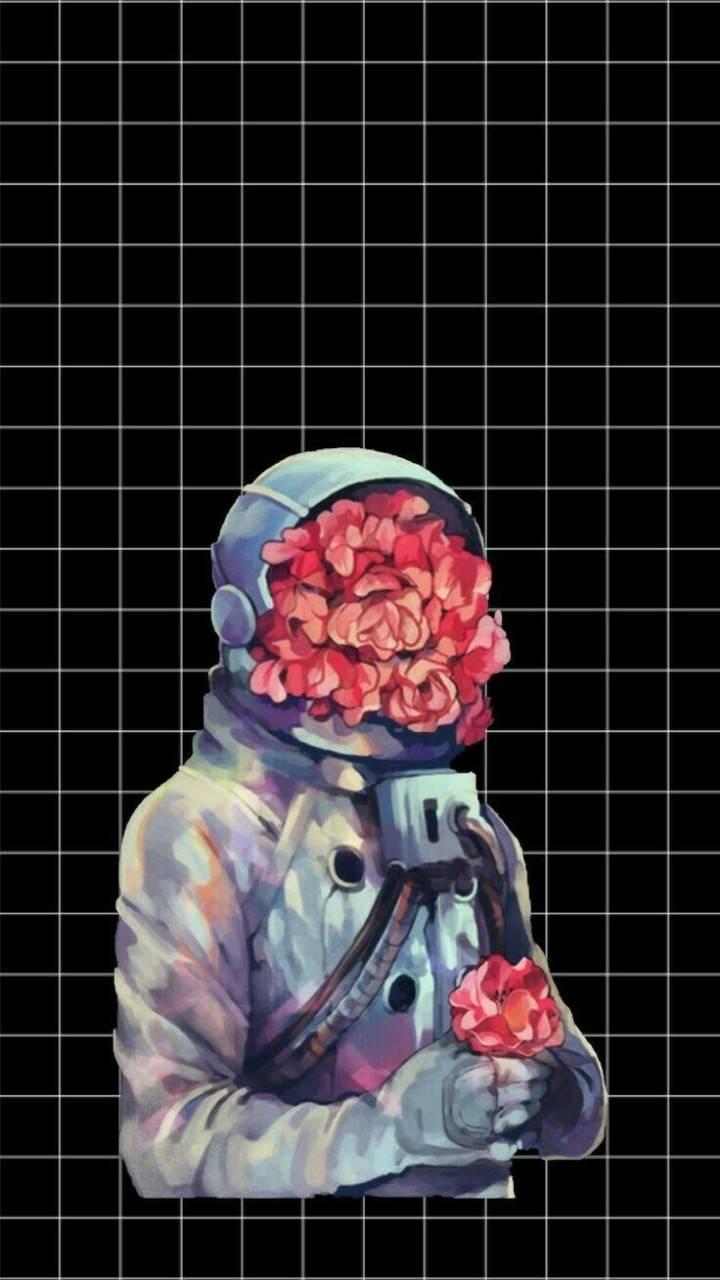 Flower Astronaut