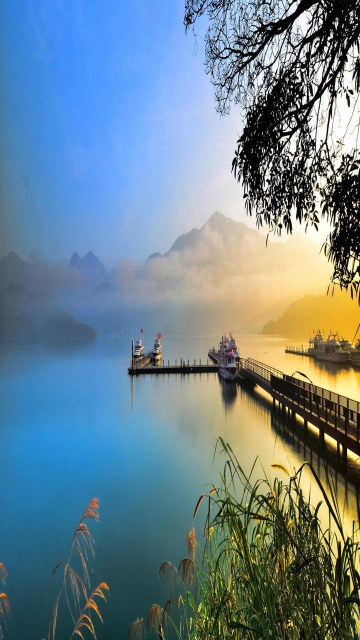 Silent Lake boat
