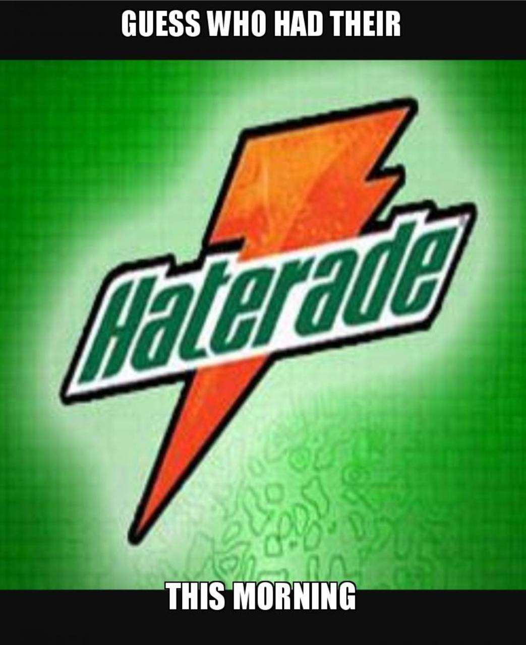 Hater-aid