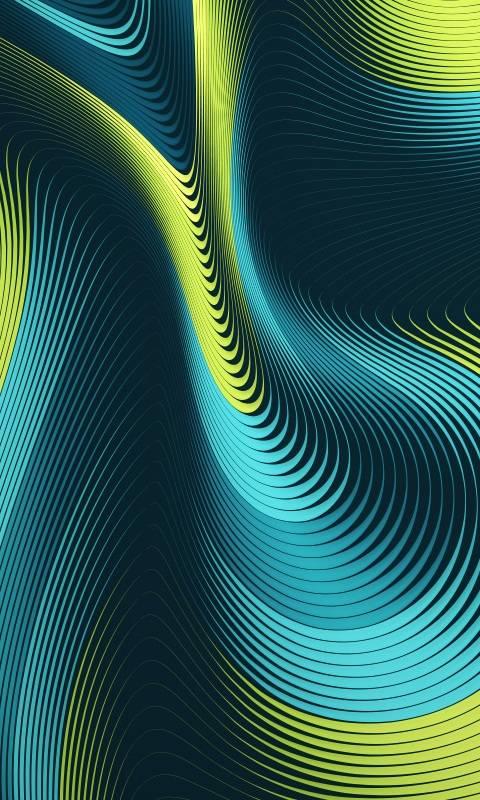 Colors Contour Line