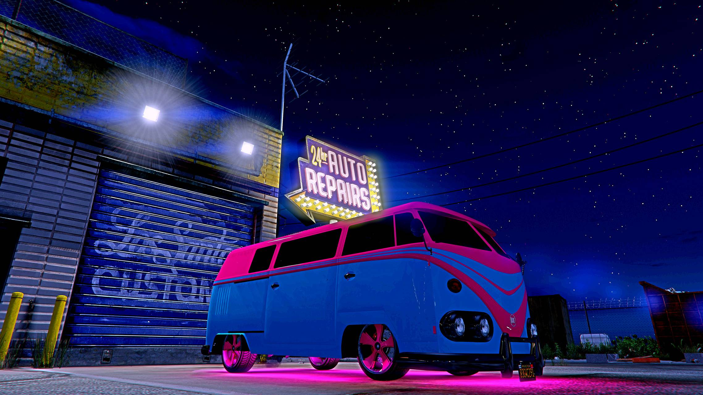 GTA V VW Bus