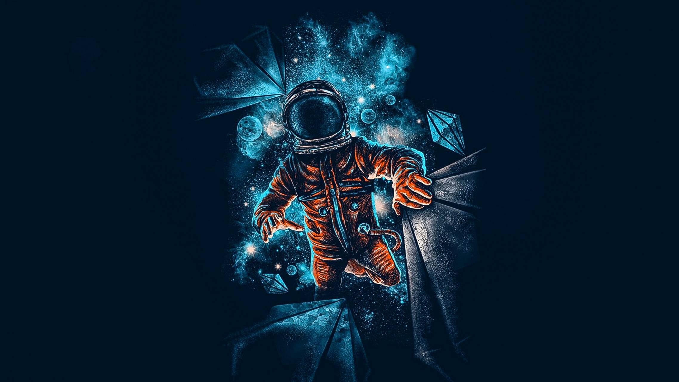 ARTISTIC SPACE MAN