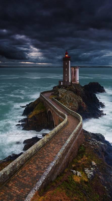 Path And Sea