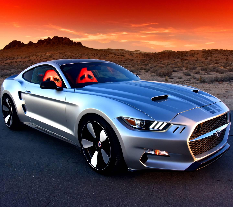 Sunset Mustang