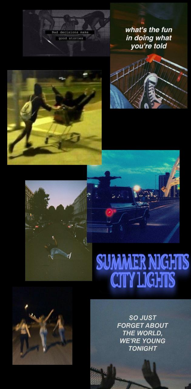 City Night Aesthetic