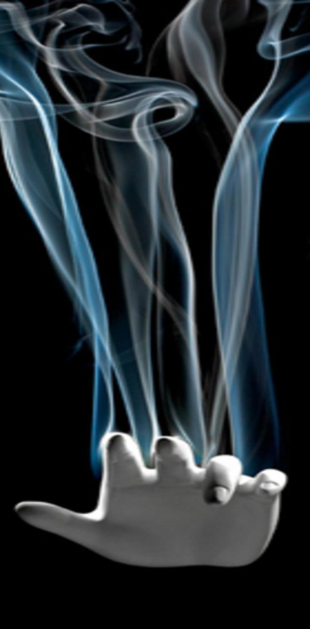 Hand and Smoke