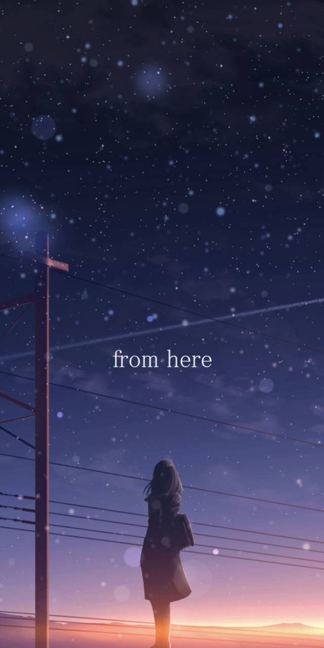 from here