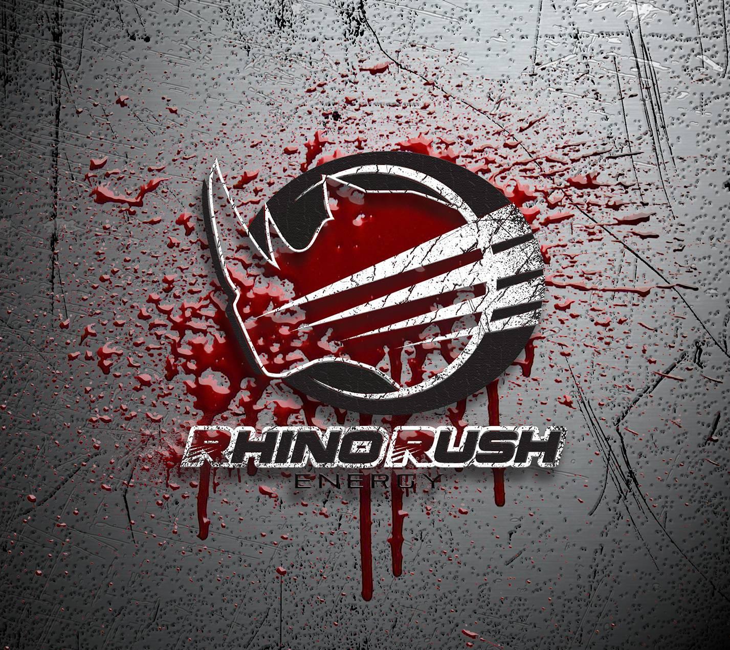 Rhino Rush RedGrunge