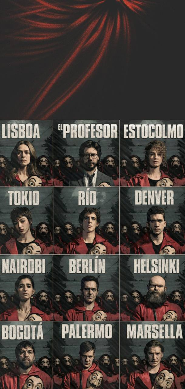 La Casa De Papel Wallpaper By Gsdaya 2c Free On Zedge