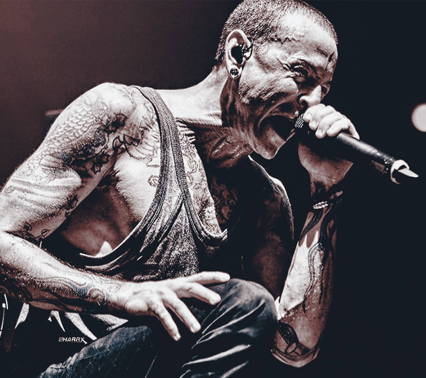 Chester Bennington Wallpaper By Harrycool15
