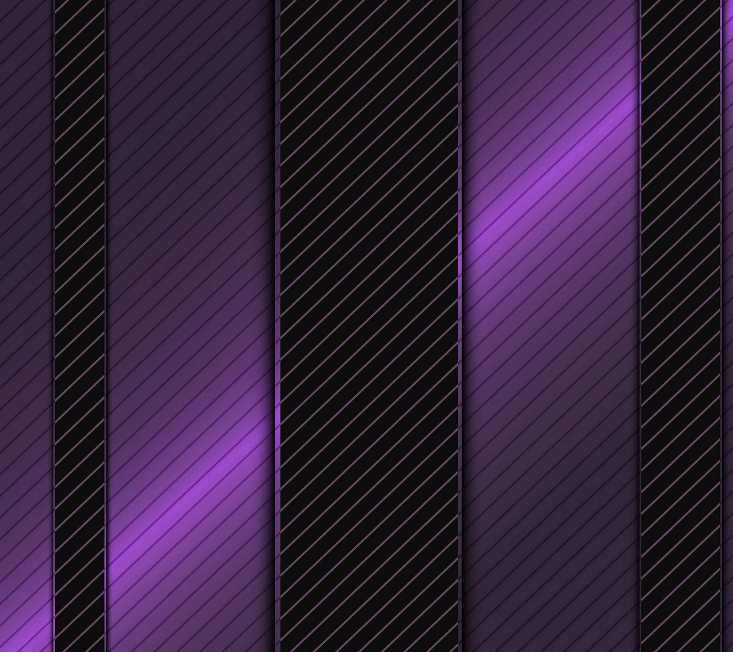 Purple Metal Design