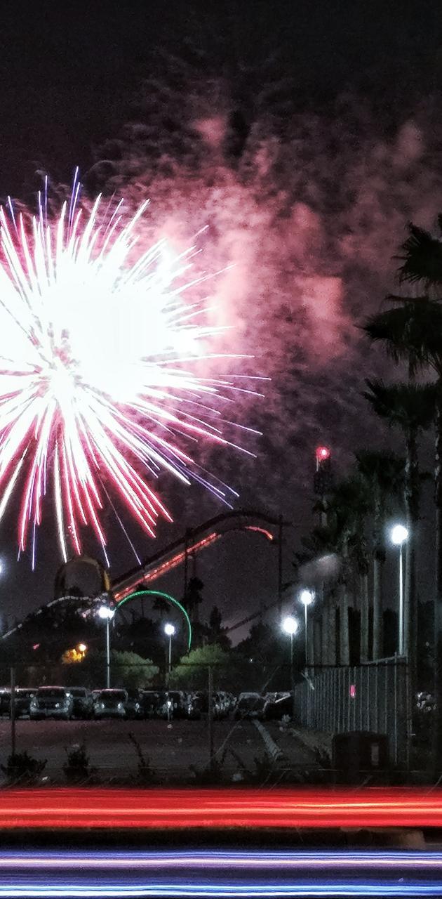 Firework streams