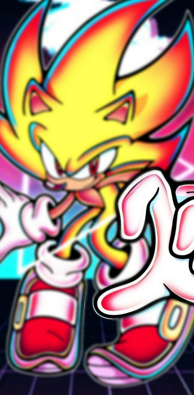 Vaporwave Sonic