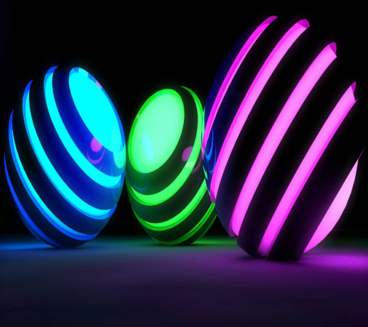 Colorful Spheres HD