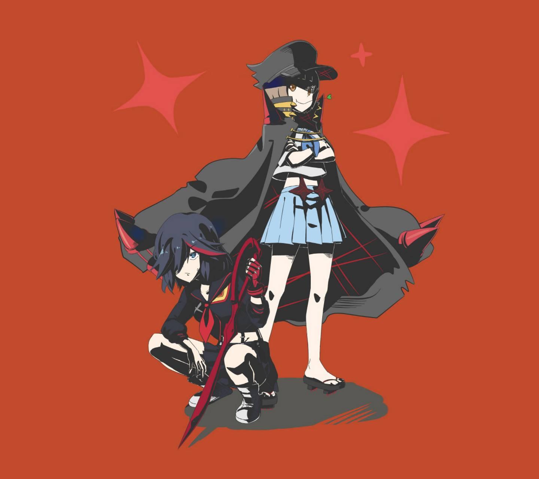 Ryuko And Mako Wallpaper By Weebinator Cd Free On Zedge