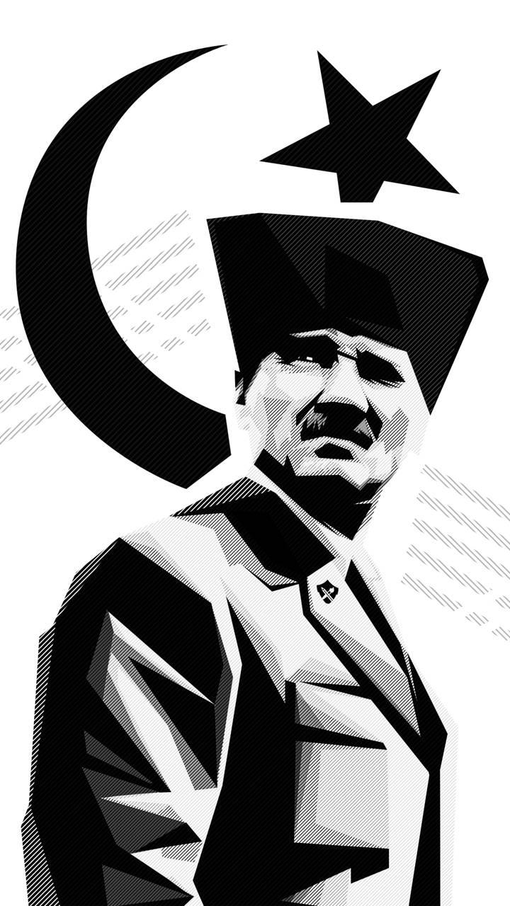 Ataturk-HD Wallpaper