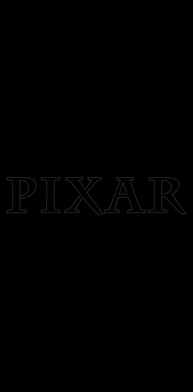 Pixar Logo Black