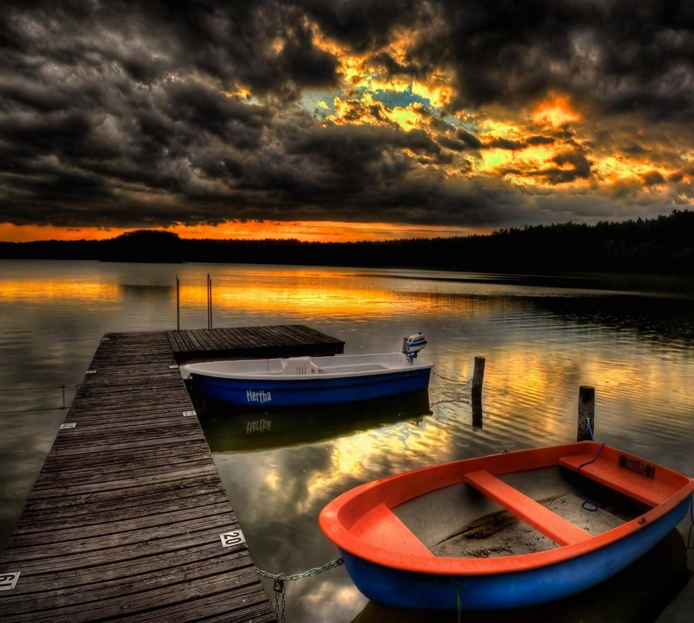 Pier-boats