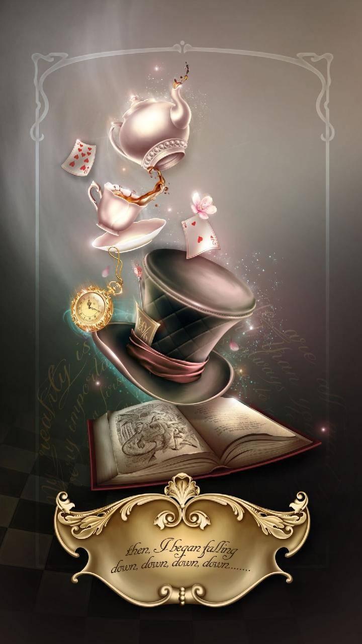 Alice In Wonderland Wallpaper.Alice Wonderland Wallpaper By Badgirlllllllllll C7 Free