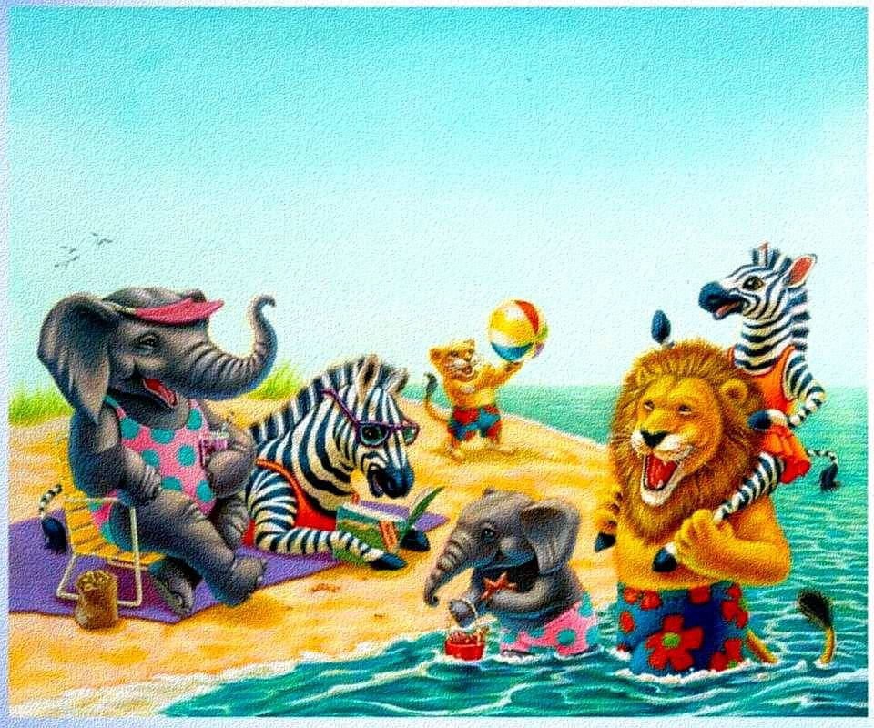 Animal Beach Party