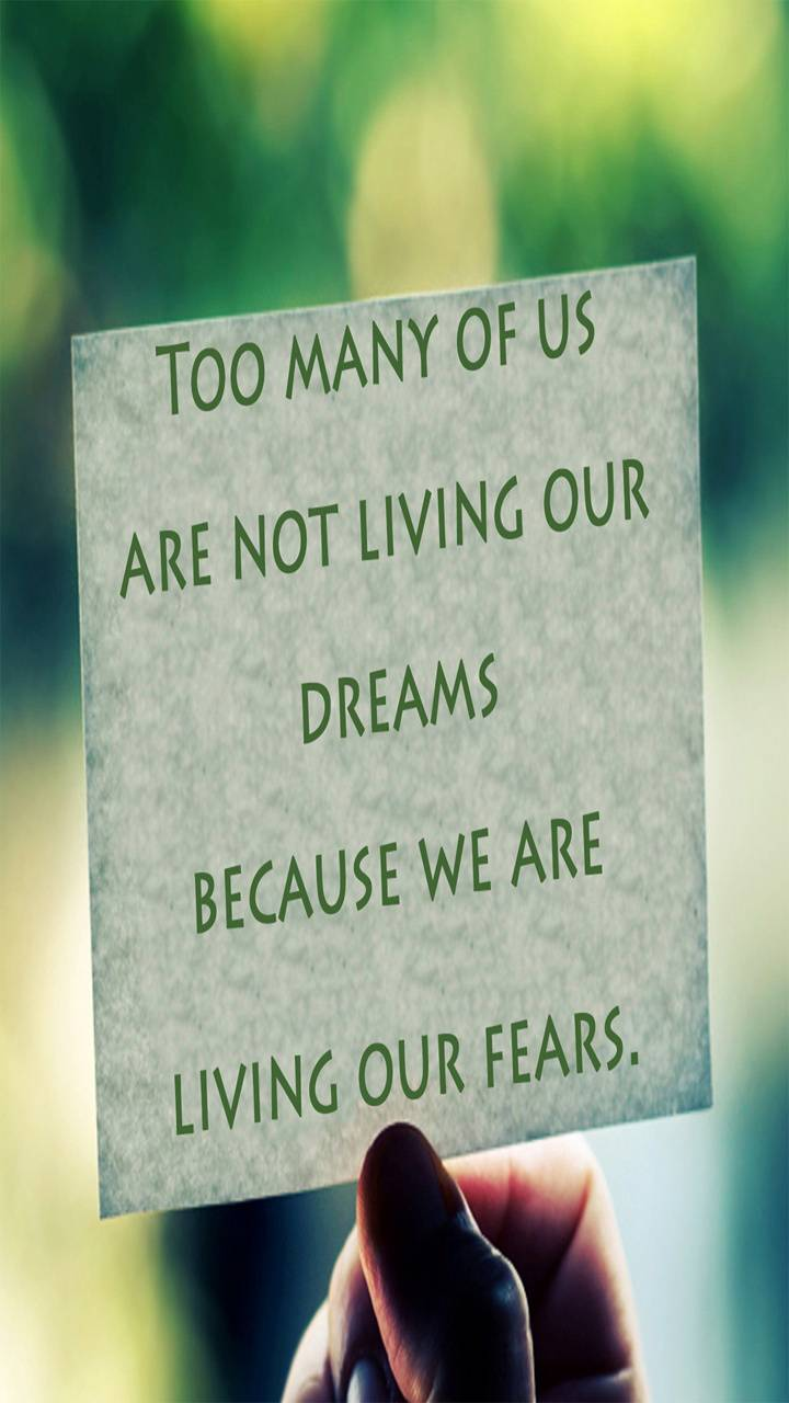 Living Drmz Not Fear