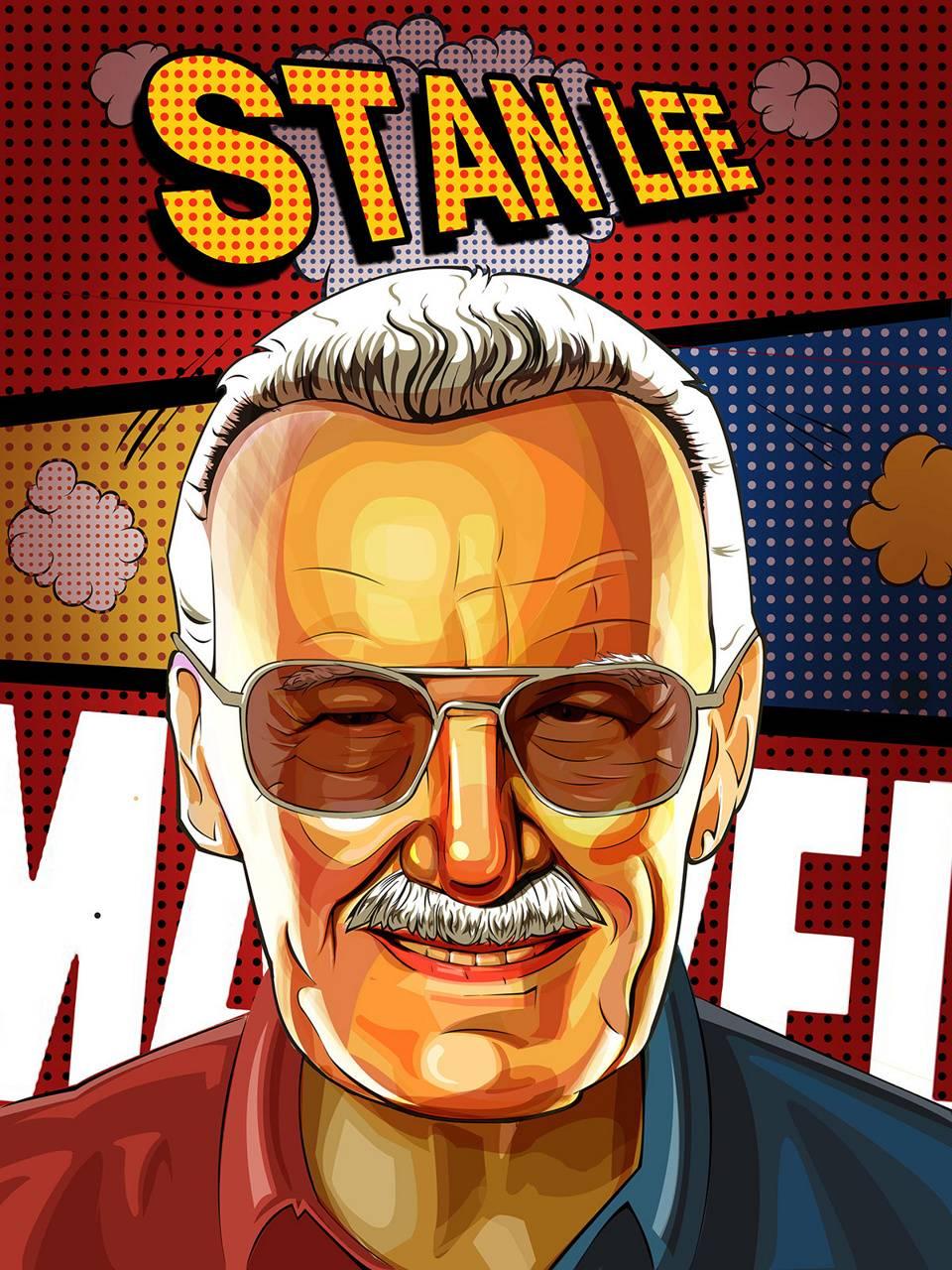 Stan Lee Pop Art