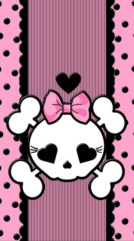 Cute Skull Wallpaper Wallgiftwatchesco